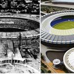 Günümüzün en önemli futbol mabedleri zaman içerisinde çok büyük değişim geçirdiler... İşte stataların eski ve yeni halleri...
