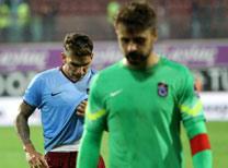 Trabzonspor ile Kasımpaşa arasındaki maçtan kareler...
