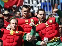 İşte Macaristan - Portekiz maçından en güzel kareler...