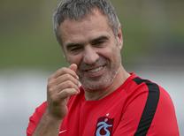 Trabzonspor'da Ersun Yanal sahaya indi!