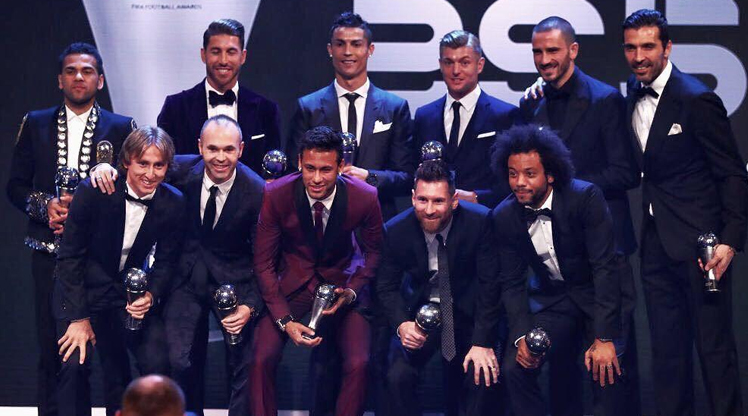 İşte FIFA yılın 11'i!