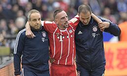 Ribery'nin sol diz dış bağlarında yırtık tespit edildi