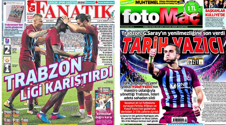 30 Ekim gazete manşetleri