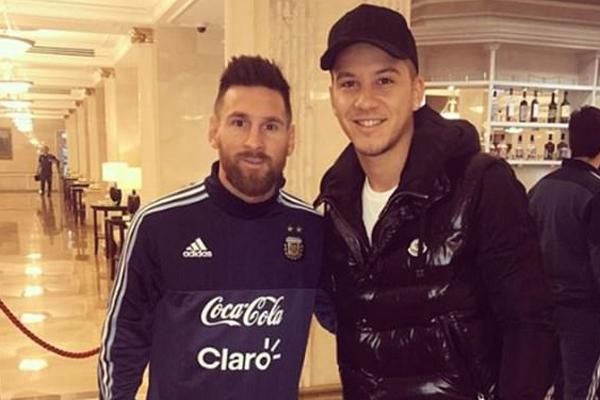 Arjantin'in Moskova'da Rusya ile oynayacağı özel maç öncesi çok ilginç bir olay gerçekleşti.