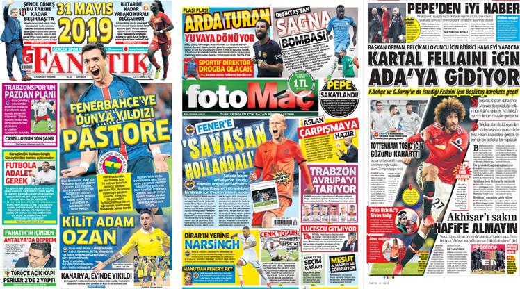 16 Kasım gazete manşetleri
