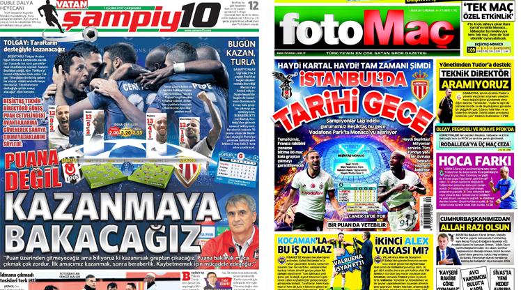 1 Kasım gazete manşetleri