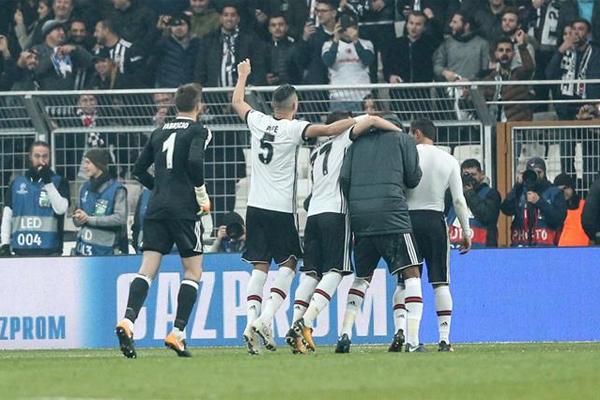 Beşiktaş'tan Avrupa'da ülke puanına büyük katkı