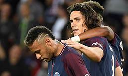 Unai Emery'den Neymar ve Cavani'ye övgü