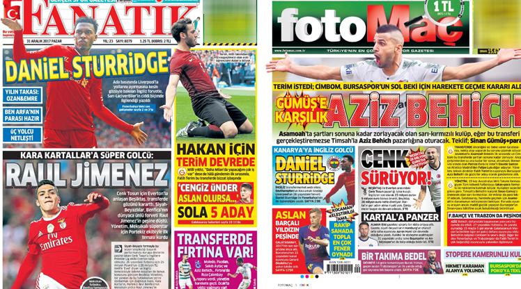 31 Aralık gazete manşetleri