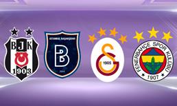 Şampiyonluk mücadelesi veren Beşiktaş, Medipol Başakşehir, Galatasaray ve Fenerbahçe'nin kalan maçları...