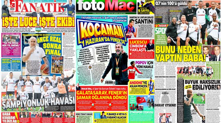 11 Mayıs gazete manşetleri