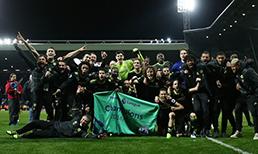 Deplasmanda West Bromwich Albion'u 1-0 mağlup eden Chelsea, şampiyonluğa ulaştı