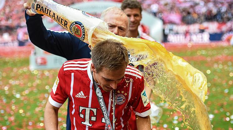 Bayern Münih'ten çılgın şampiyonluk kutlaması