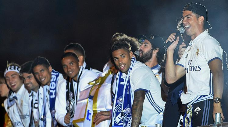 Real Madrid'in şampiyonluk coşkusu