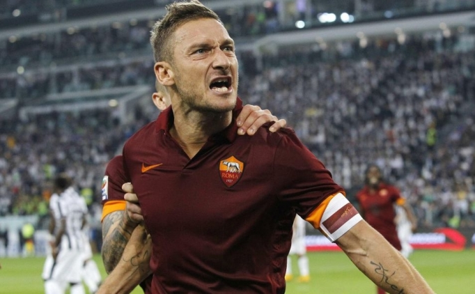 Totti efsanesine tanıklık edin!