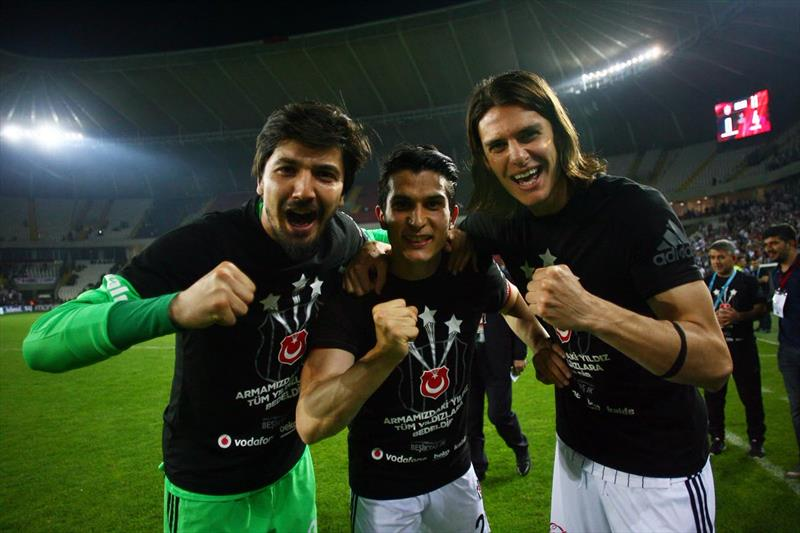 Beşiktaş'ın şampiyonluk kutlaması burada!