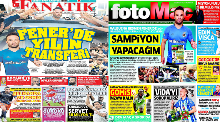 13 Haziran gazete manşetleri