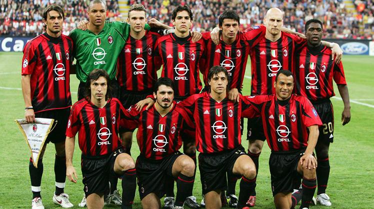 Milan'ın unutulmaz 11'i