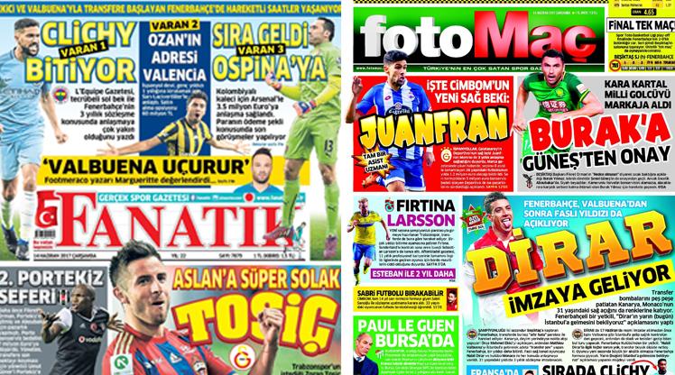14 Haziran gazete manşetleri