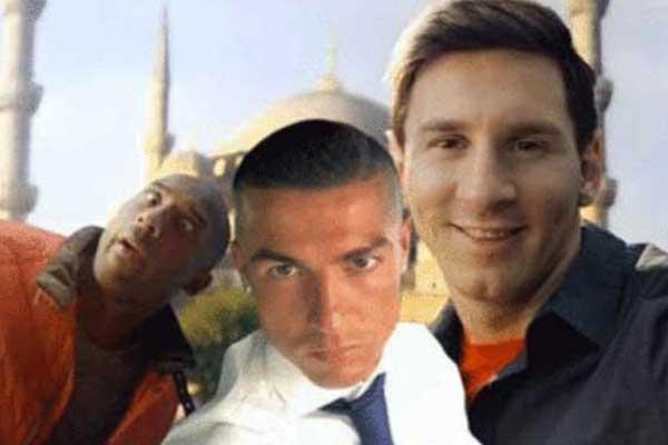 Ronaldo'nun yeni saç stili sosyal medyayı ayağa kaldırdı.