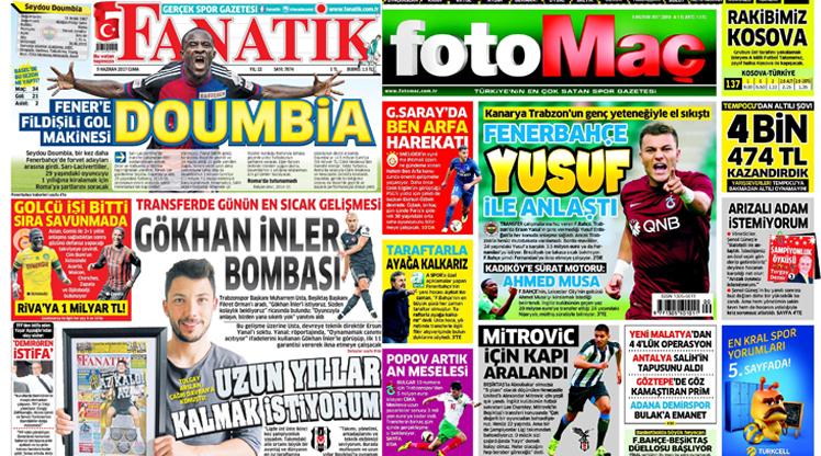 9 Haziran gazete manşetleri