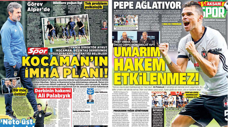22 Eylül gazete manşetleri