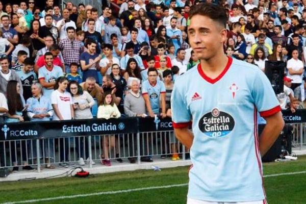 Celta Vigo, kulüp tarihinin en pahalı ikinci transferi Emre Mor için tanıtım töreni düzenledi.