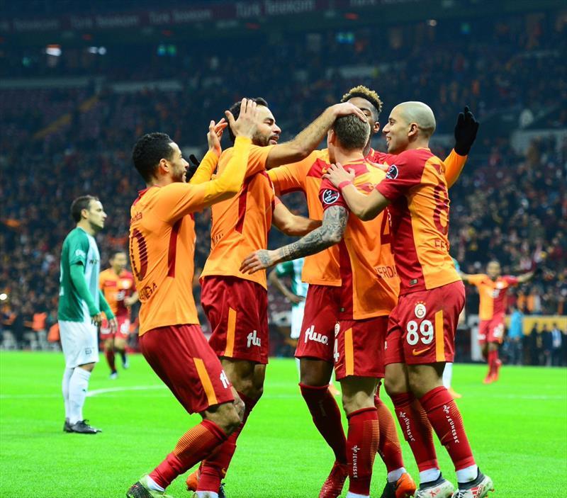 Galatasaray - Bursaspor foto galerisi