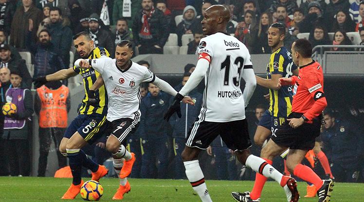 Beşiktaş - Fenerbahçe foto galerisi