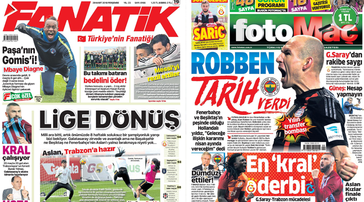 29 Mart gazete manşetleri