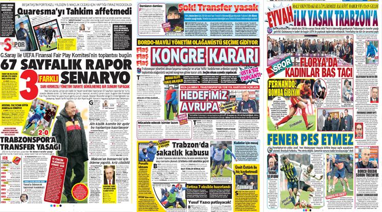 9 Mart gazete manşetleri
