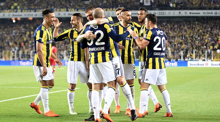 Fenerbahçe - Antalyaspor foto galerisi