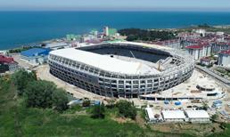 Yeni Ordu Stadı'nın inşaatı devam ediyor