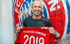 Robben Bayern'le uzattı