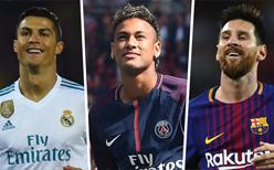 Ronaldo'dan Messi ve Neymar'a tarihi fark!