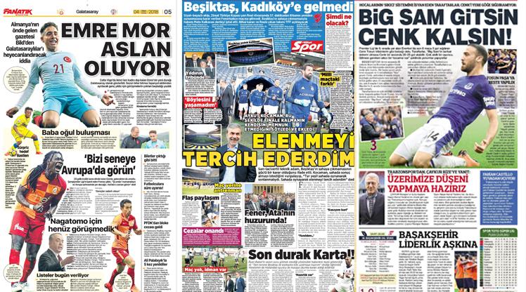 4 Mayıs gazete manşetleri