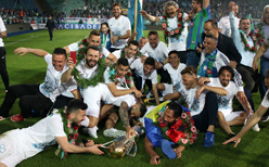 Çaykur Rizespor şampiyonluğu kutladı