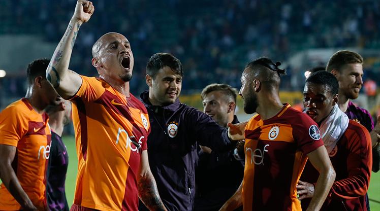 Akhisar - Galatasaray foto galerisi