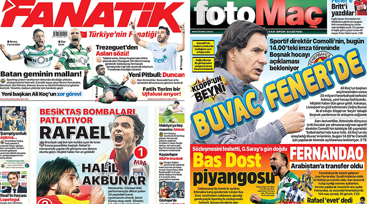 13 Haziran 2018 gazete manşetleri