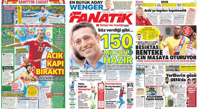 5 Haziran gazete manşetleri