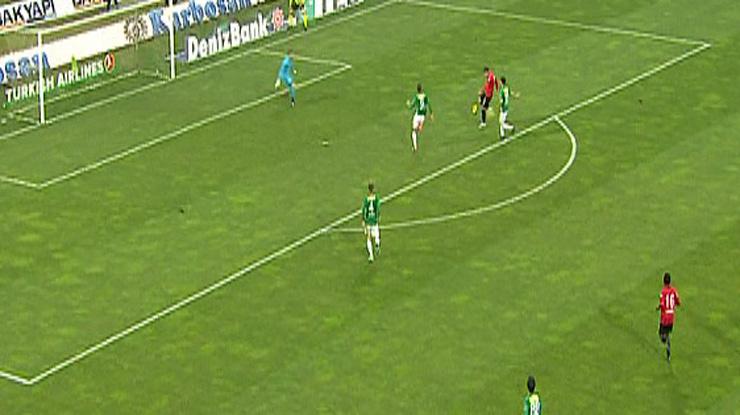 Bursaspor Gençlerbirliği golleri