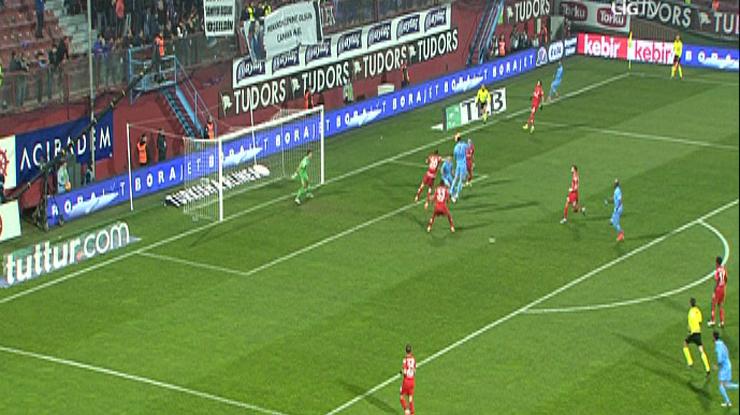 Trabzonspor Antalyaspor golleri
