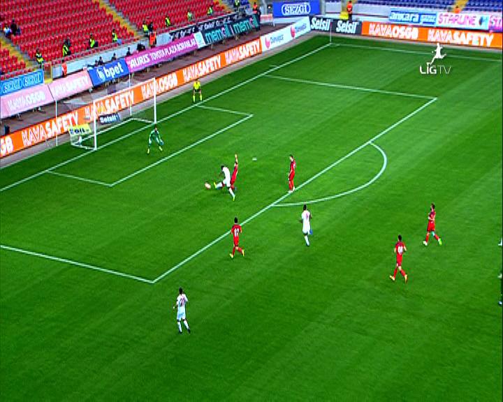 Mersin İdman Yurdu Antalyaspor golleri