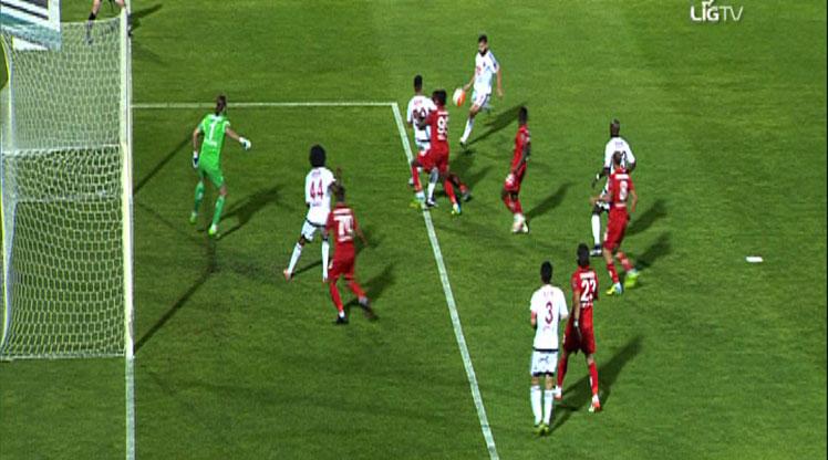 Gaziantepspor Antalyaspor golleri