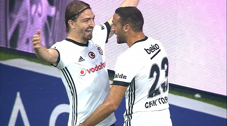 Beşiktaş Atiker Konyaspor golleri