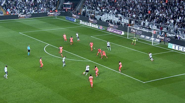 Beşiktaş Aytemiz Alanyaspor golleri