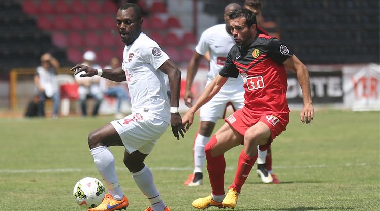 Gaziantepspor Eskişehirspor maç özeti