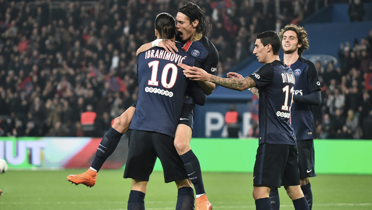 Paris St Germain Saint Etienne maç özeti