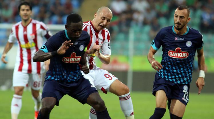 Çaykur Rizespor Medicana Sivasspor maç özeti