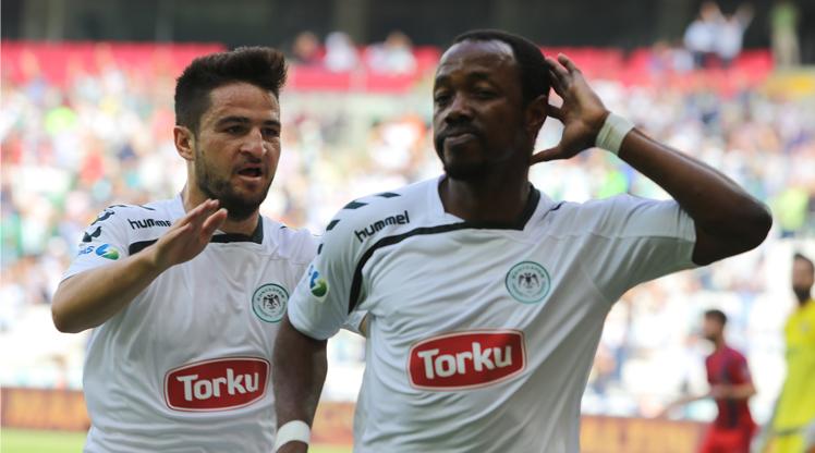 Torku Konyaspor Mersin İdman Yurdu maç özeti